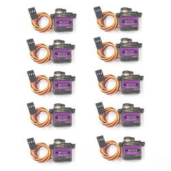 4/5/10/20 pcs/lot MG90S gear Digital 9g Servo SG90 For Rc Helicopter Plane Boat Car MG90 9G Trex 450 RC Robot Helicopter