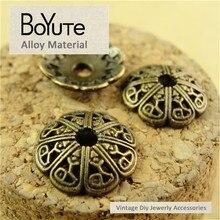Boyute (200 peças/lote) 4*13mm liga de zinco bronze antigo chapeado grânulo caps diy jóias descobertas acessórios jóias atacado