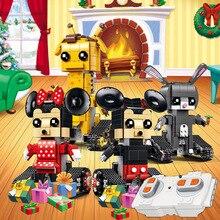 Brickheadz Geoffrey long dee judy rabbit mimi mouse jerry Building Block Bricks Toys