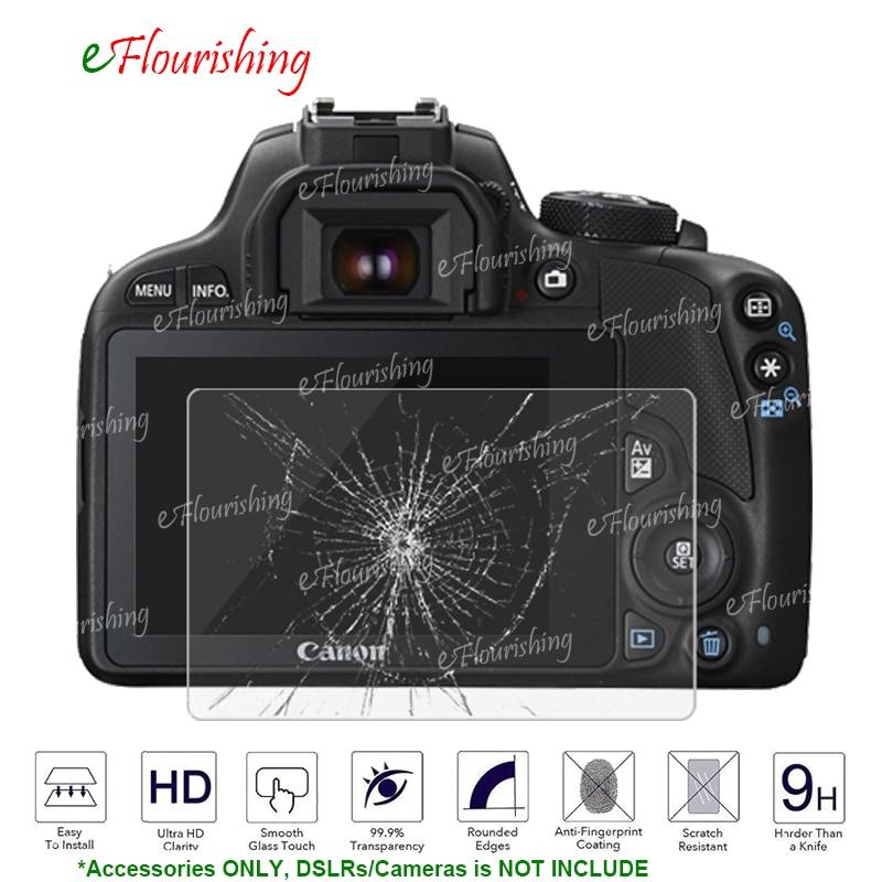 Для Canon PowerShot G1X Mark II G1X2 EOS M3 M5 M10 100D Rebel SL1/поцелуй X7 DSLR Экран протектор Закаленное Стекло Защитная крышка-!