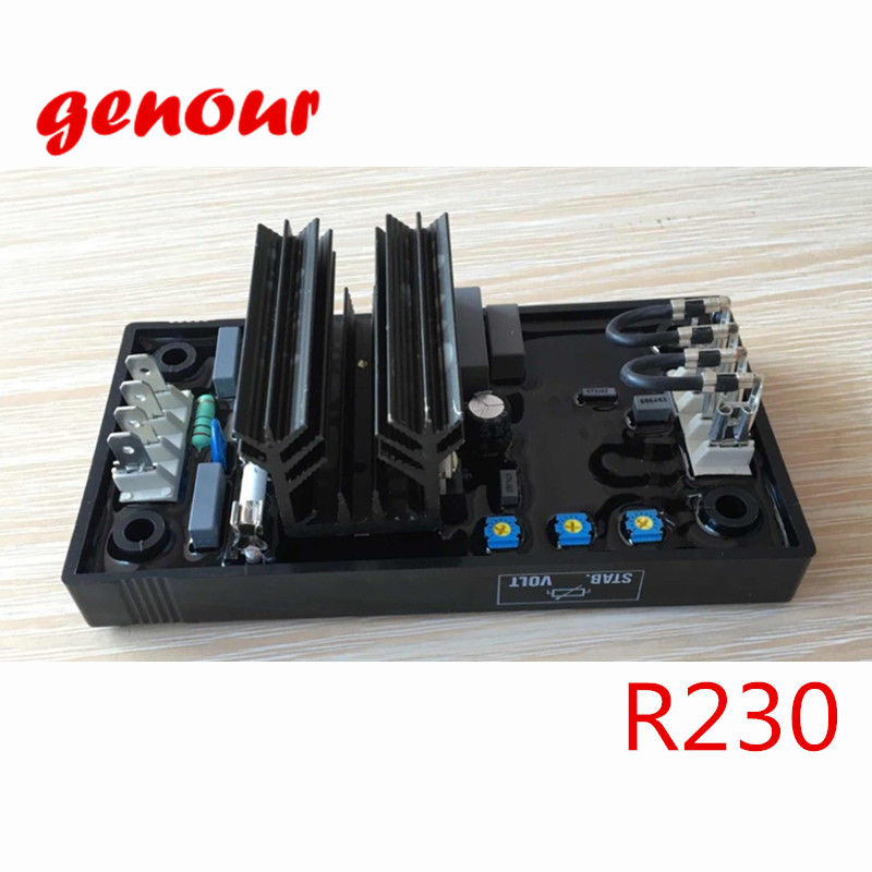 все цены на  R230 automatic voltage regulator generador Leroy Somer AVR R230 high quality brushless alternator spare part  онлайн
