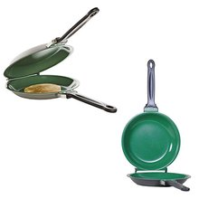 Flip Pancake Maker Ceramic Double Frying Pan Non Stick Cookware Pan Baking Tool