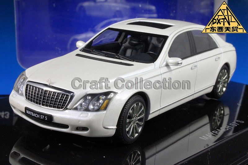 White 1:43 AutoArt AA Maybach 57 S SWB Alloy Automotive Mannequin Excessive-end Scorching Promote Model Minicar Luxurious Items