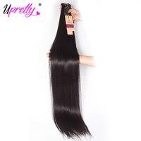 Upretty Hair 28 inch 30 32 34 36 38 40 inch Bundles Straight Brazilian Virgin Hair Weave Bundles Longest Human Hair Extensions