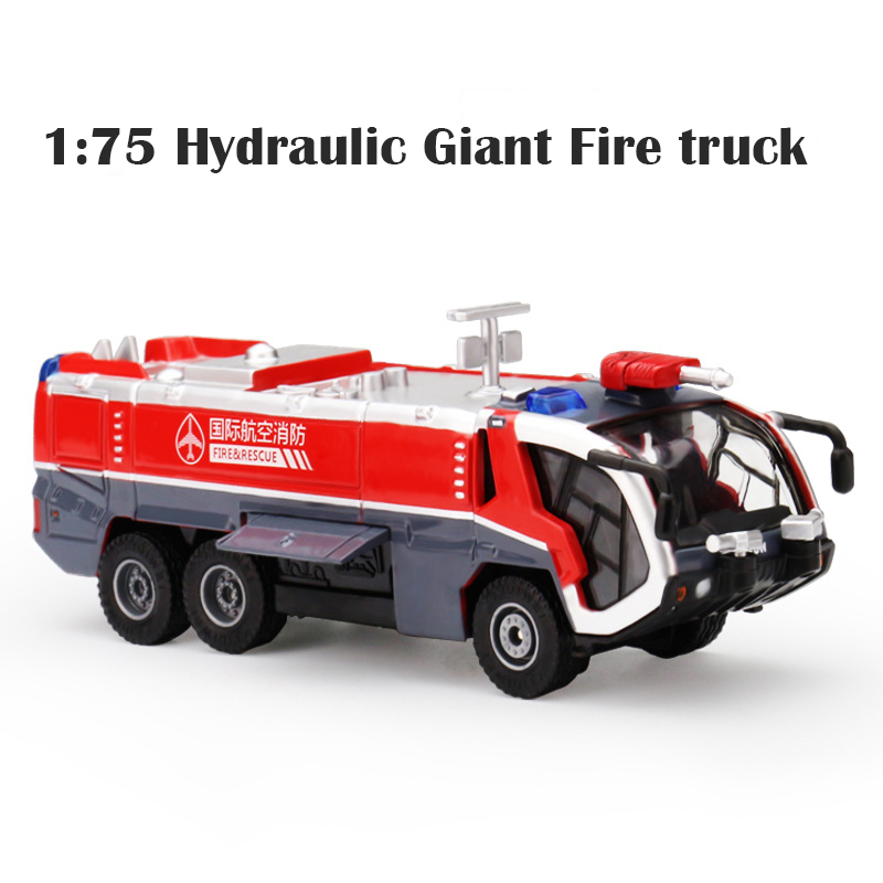 1:50 5pc Set Diecast Metal Ladder Fire Engine Alloy Car Model Fire Rescue Vehicle Toy Dinky Toys For Children Collection Boy New maisto jeep wrangler rubicon fire engine 1 18 scale alloy model metal diecast car toys high quality collection kids toys gift