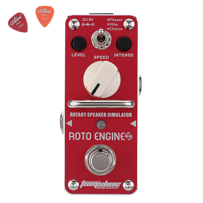 Aroma ARE-3 ROTO ENGINE Guitar Effect Pedal Mini Digital Pedals Effects CE ROHS With True Bypass aov 3 ocean verb digital reverb electric guitar effect pedal aroma mini digital pedals with true bypass guitar parts