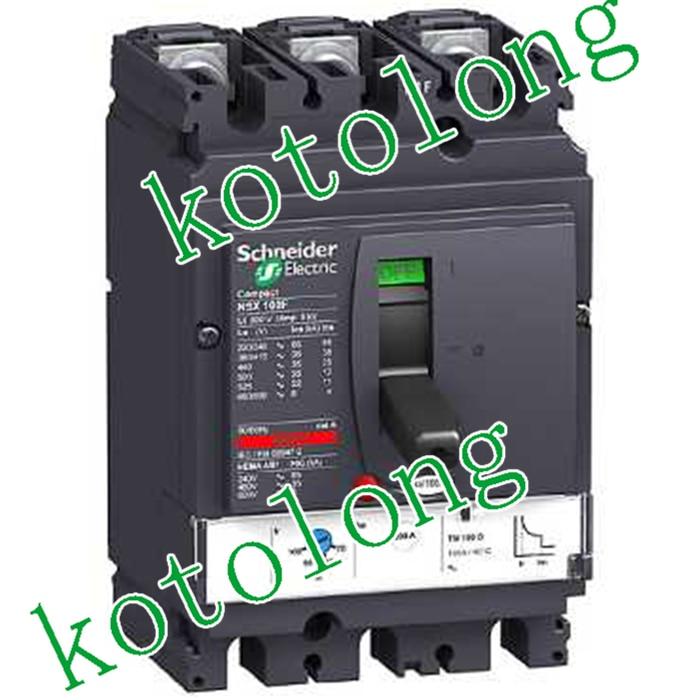 Компактный NSX100B ТМД 3Р LV429540 3Р-100А LV429541 3Р-80А LV429542 3Р-63А LV429543 3Р-50А