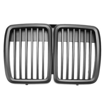 1Pcs Car Front Kidney Matte Black Grilles for BMW 3-Series E30 82-94 for Cars Car Styling Auto Car Racing Grille High Quality image