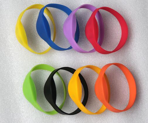RFID EM4100/TK4100 Wristband Bracelet ,125k ID Silicone Wrist Strap | ID Watch Card | RFID Sauna Club Hand card,min:1pcs