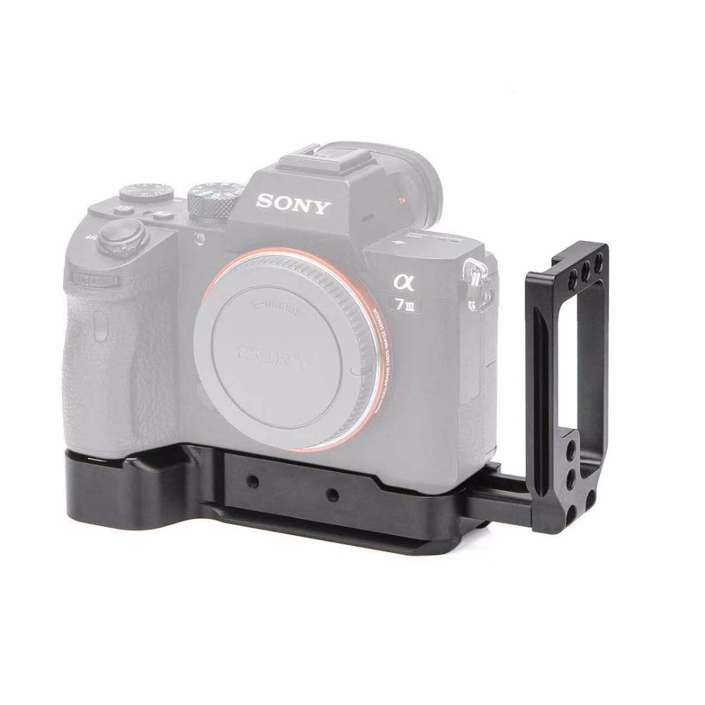 Tripod Monopods A7M3 A7R3 camera clamp L plates for Sony A7SIII A7III A7RIII A9 Arca Swiss