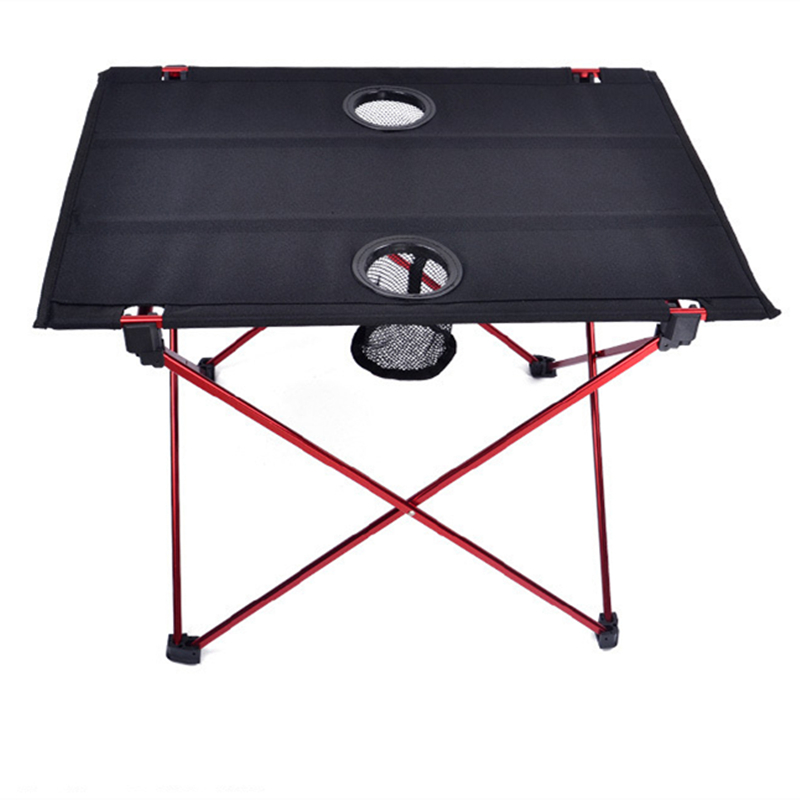 Image 4 - VILEAD Ultralight Aluminium Picnic Table 56*42*40cm Portable Foldable Durable BBQ Outdoor Camping Beach Waterfproof Stable Fold-in Camping Tables from Sports & Entertainment