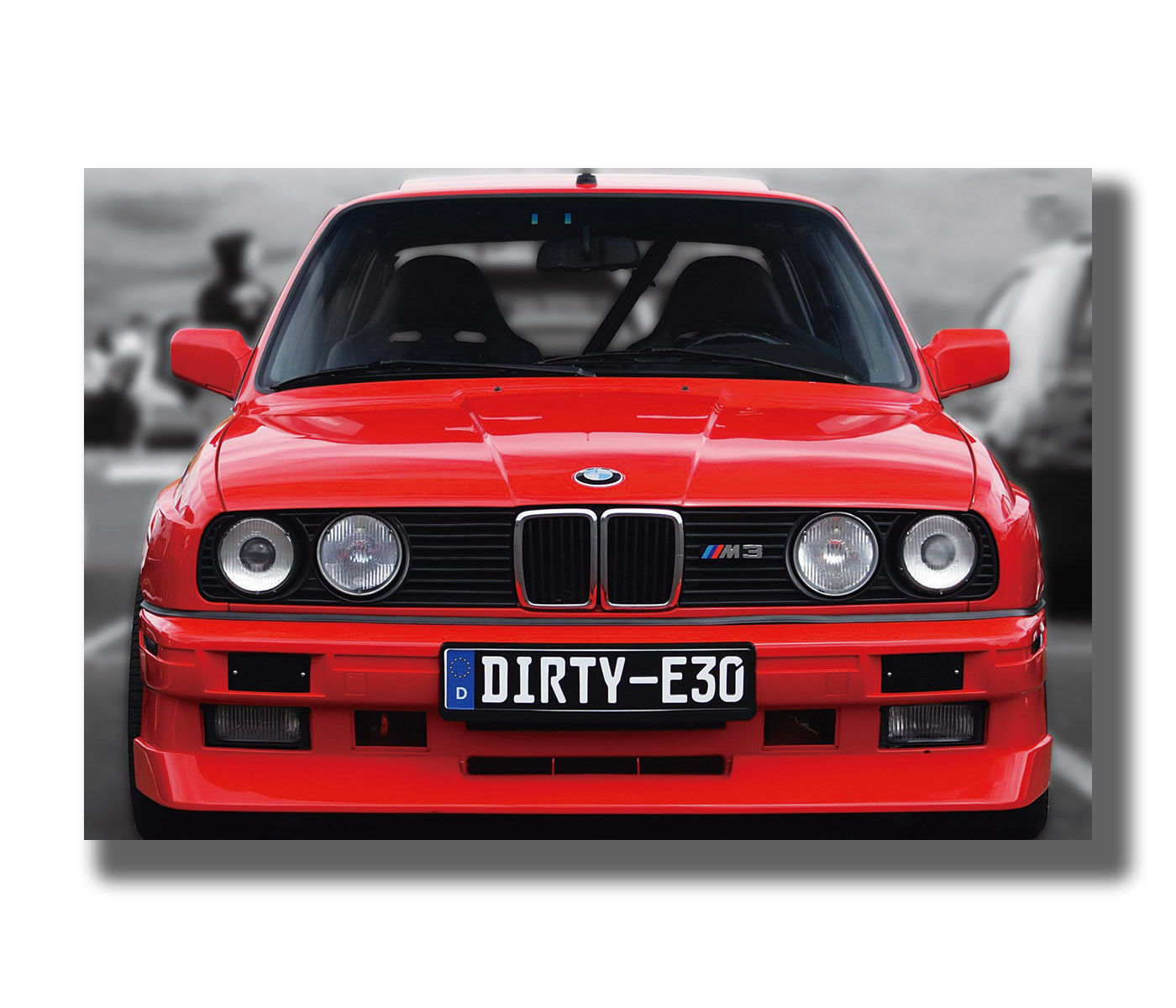 Girdss Carteles E Impresiones Cool Custom Bmw M3 E30 Series Super Racing Car Custom Art Poster Canvas Painting 50x70cm Sin Marco Lienzos Costura Y Manualidades