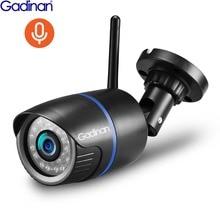 Gadinan 720 P 1080 P Registrazione Audio Macchina Fotografica del IP Esterna Via Wifi Monitor di Sicurezza carta di Tf di Sostegno App Yoosee Per smartphone