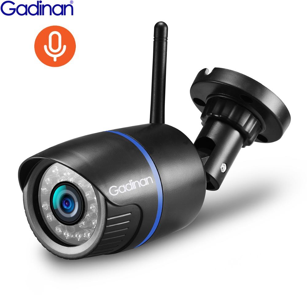 Gadinan 720P 1080P Audio Record IP Camera Outdoor Street Wifi Security Monitor Support TF Card App Yoosee For Smartphone