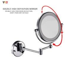 2015 Современная Мода Ванная Комната Специальные Светодиодные Зеркало Настенное Крепление Поставляется С 8 Дюймов