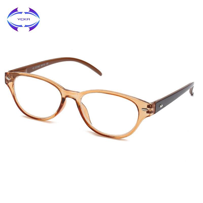 Workmanship 1.0-2.5 Exquisite In Vcka Reading Glasses Women Brand Designer High Quality Square Lenses Presbyopic Anti-fatigue Prescription