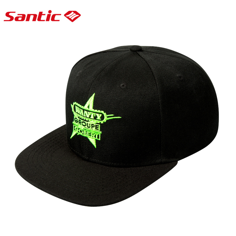 Santic 2019 Men's Cycling Cap Sports Cycling Hat Outdoor MTB Road Bike Head Wear Hats Free Size Commemorative 9C09107
