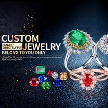 STAYREE Natural Diamond Gemstone Wedding Rings Custom For Women Men 14K 18K Platinum Fine Gold Engagement Jewelry Customization