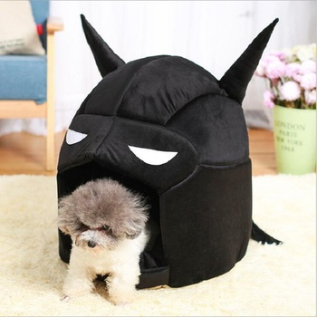 Cool Batman Pet Supplies New Garden Type Warm Cats And Dogs Kennel Dog House 2 Colors For Small Dogs dog Bed House