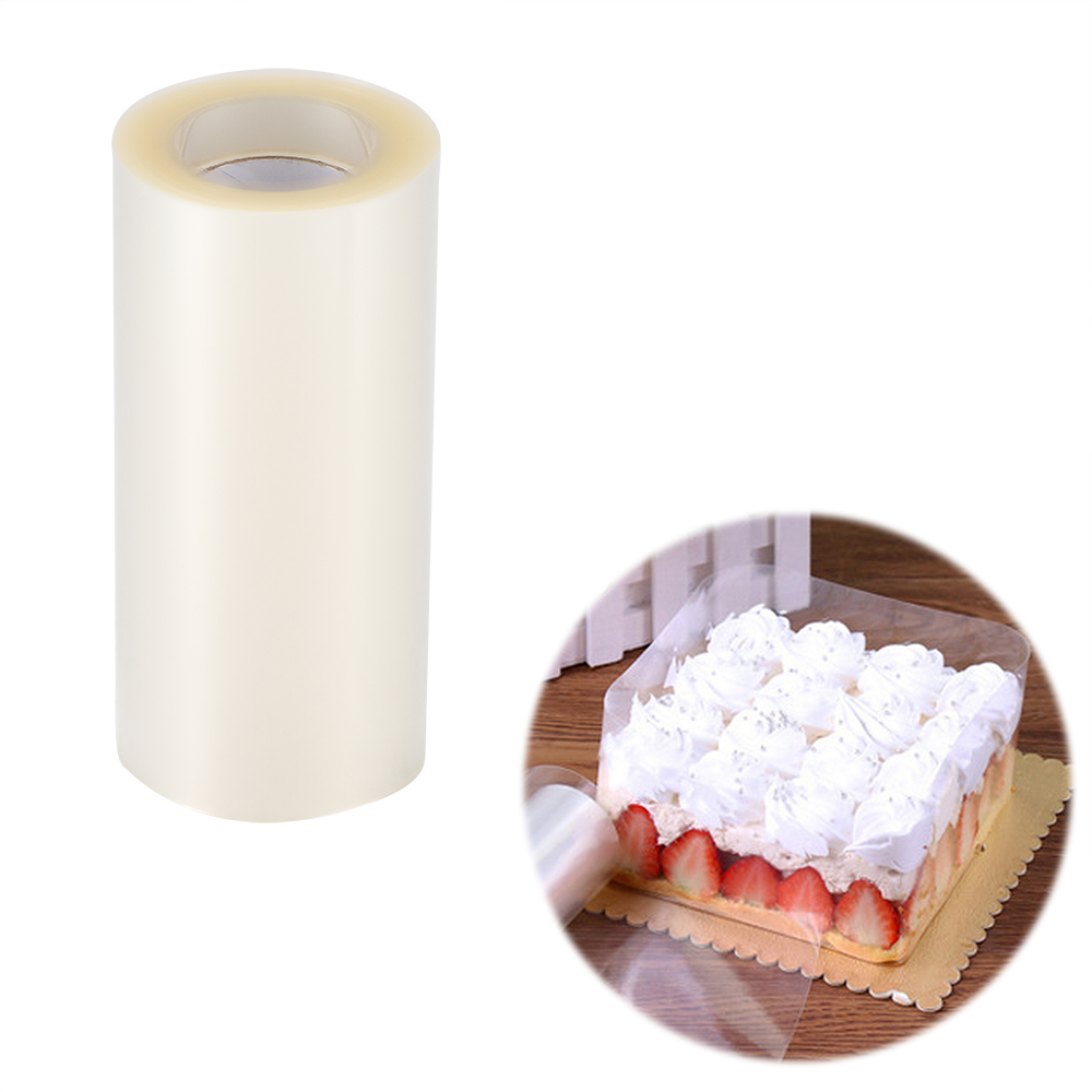 Decorating-Tools Wrapping-Tape Mousse Cake Acetate Roll Transparent Dessert-Collar Clear title=