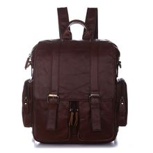 100% Genuine Leather Men Backpacks Ipad Bag Shoulder Bags Casual Daypacks Men's journey luggage Cowhide Leather Backpack #MD-J7123