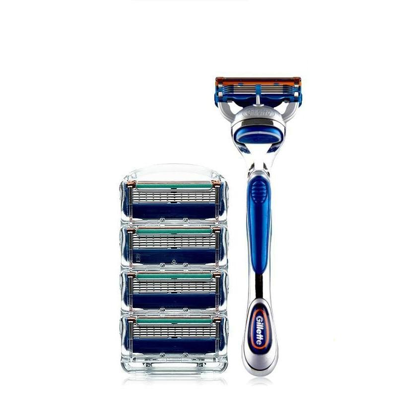 Gillette Fusion Shaving Razor Blades Set för män 5 Shaver Blades - Rakning och hårborttagning - Foto 2