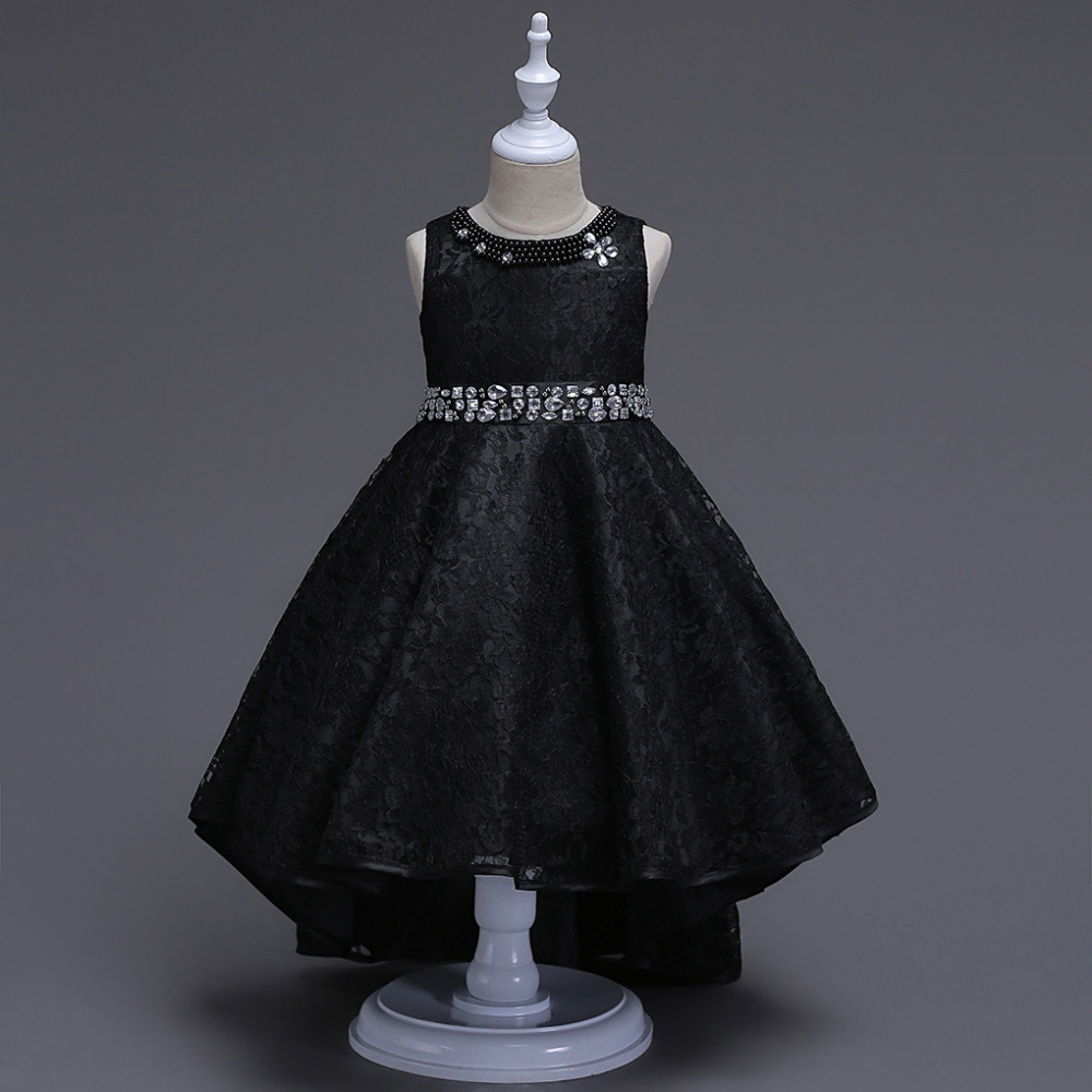Lace Flower Girls Dresses Kids Children Youth Formal Pageant Party ...