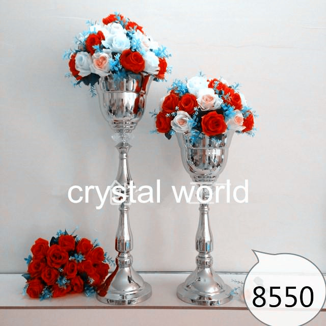 Valentine's day roses flower arrangements wholesale silk flowers rose flower stand for wedding table