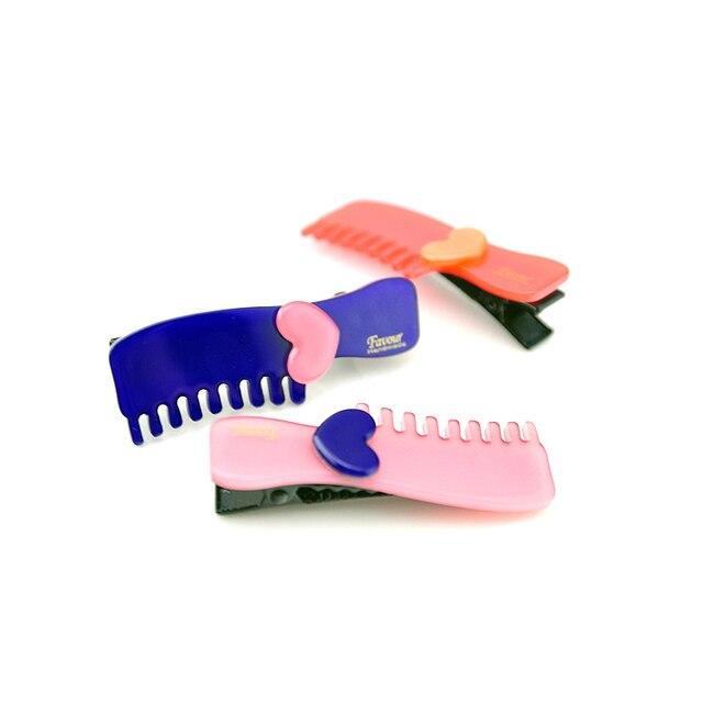 la edición de han lindo hairgrips favor marca peine del pelo niños