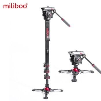 miliboo Portable Professional DSLR Monopod Walking Stick with Mini Tripod Stand Base & Ballhead For Canon Nikon 188/80cm - discount item  5% OFF Camera & Photo