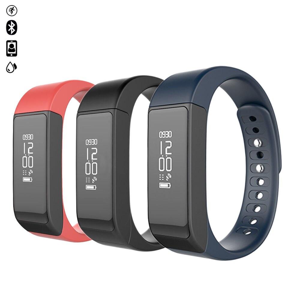 imágenes para I5 original además de smart watch pulsera ip67 impermeable pantalla táctil bluetooth pulsera salud pulsera inteligente para android ios