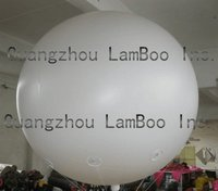 ON SALE Hot 6.5FT/2m Diameter Advertising Helium White Balloon for Events/FREE Shipping