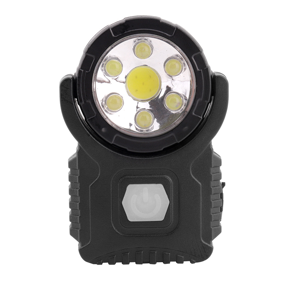 Portable Lighting Hot 90 Degree Rotatable Clip-on Hat Light 3led Headlamp Cap Light Hands Free Bright Head Lamp Lantern Camping Cycling