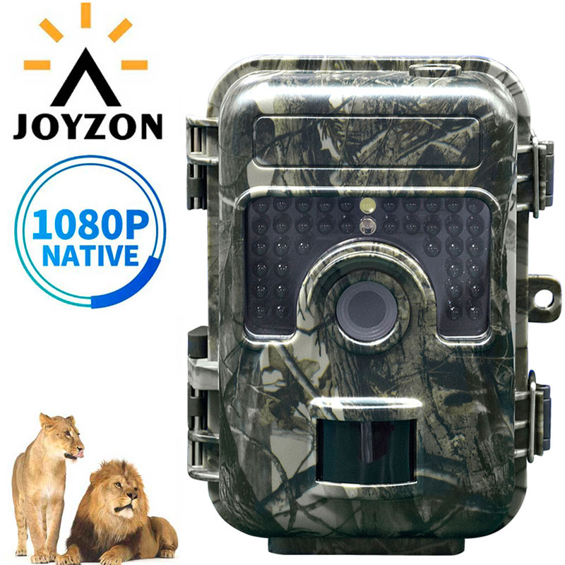 JOYZON 1080P HD Hunting Camera 16MP 38pcs 940nm Infrared LEDs Hunting Traps Wildlife Trail Camera Night Vision Animal Photo TrapJOYZON 1080P HD Hunting Camera 16MP 38pcs 940nm Infrared LEDs Hunting Traps Wildlife Trail Camera Night Vision Animal Photo Trap