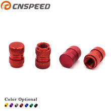 CNSPEED 4Pcs set Universal Auto Bicycle Car Tire Valve Caps Tyre Wheel Hexagonal Ventile Air Stems