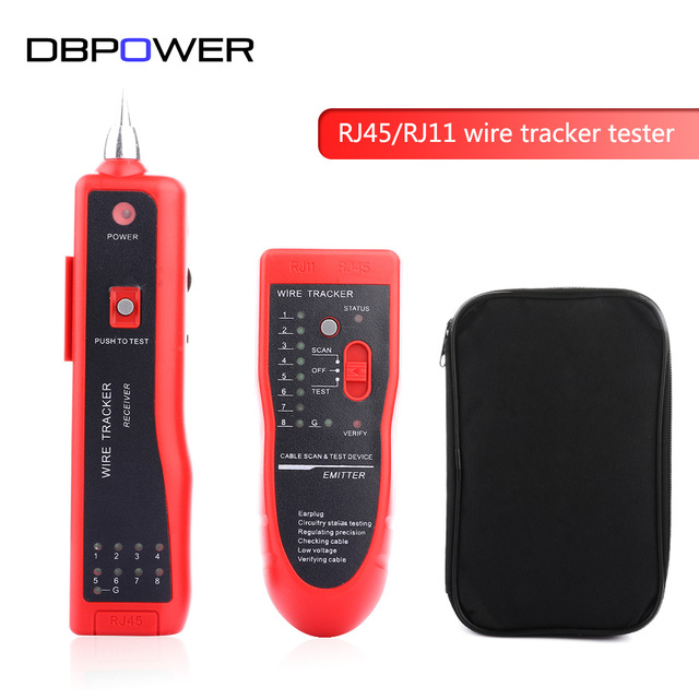 RJ45 RJ11 Cat5 Cat6 LAN Netzwerk Ethernet kabel Tester finder ...