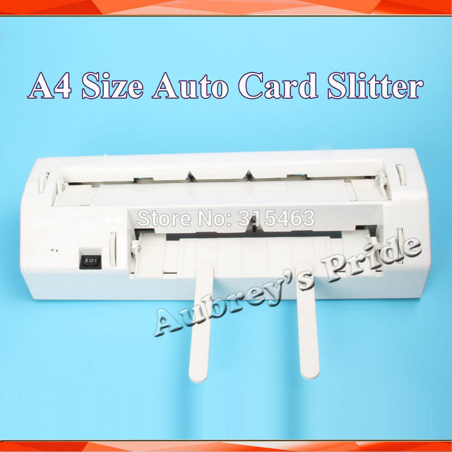 220 V 90x54mm Full Bleed A4 Taille Carte De Visite Papier Cutter Dcoupeuse 10Ups