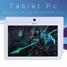 New 10.1 Inch WiFi Tablets Android 5.0 Quad Core 32GB Tablet Pc IPS Screen Support Bluetooth WiFi for Big Discount tab pc 7 10