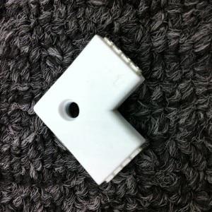 10 шт., 4-штырьковые коннекторы 10 мм, l-образный прямоугольный разъем для светодиодной ленты RGB