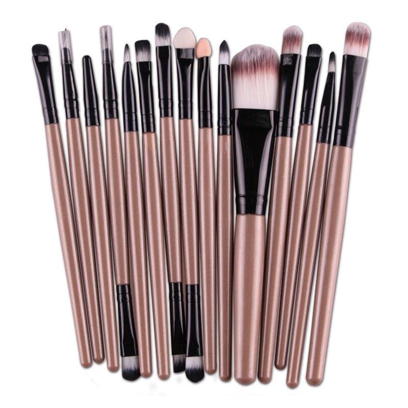 6/15 Pcs Cosmetic Makeup Brush Women Foundation Eyeshadow Eyeliner Lip Make Up Eye Brushes Set OA66