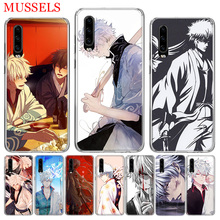 Gintama Japan Anime Phone Case for Huawei P30 P20 Mate 20 10 Pro P10 Lite P Smart + Plus 2019 Cover Shell Capa Coque