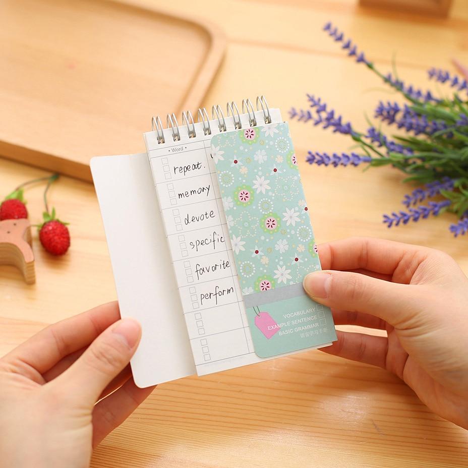 1 шт. genkky Язык обучения руководства Творческий портативный, носить с собой Shelter, английский памяти слово книга, катушки небольшая книга
