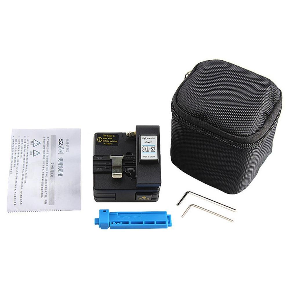 Fibre Tester Visual Fault Locator StrippersOne outil de réglage Kit avec fibre Optique Power Meter et fibre Cleaver et 10 mW