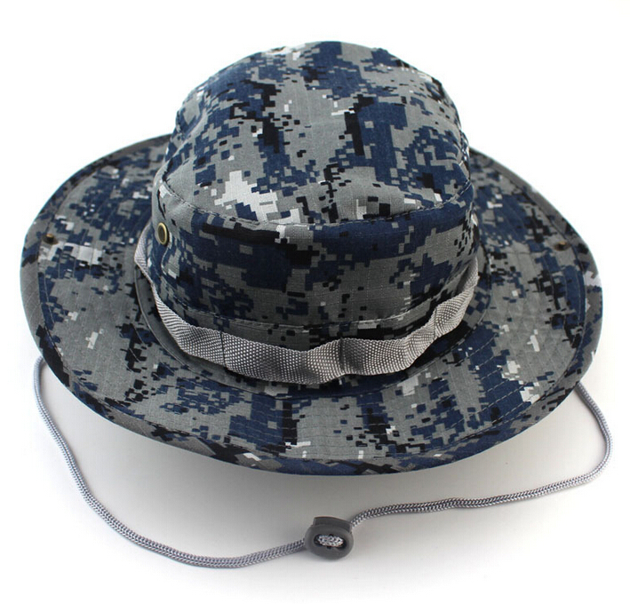Mens Multicam Boonie Hat Military Army Round brimmed Hat Sun Bonnet  Woodland Camo Outdoor Cap for Fishing Hiking-in Bucket Hats from Apparel  Accessories on ... 2a3812a4b0f
