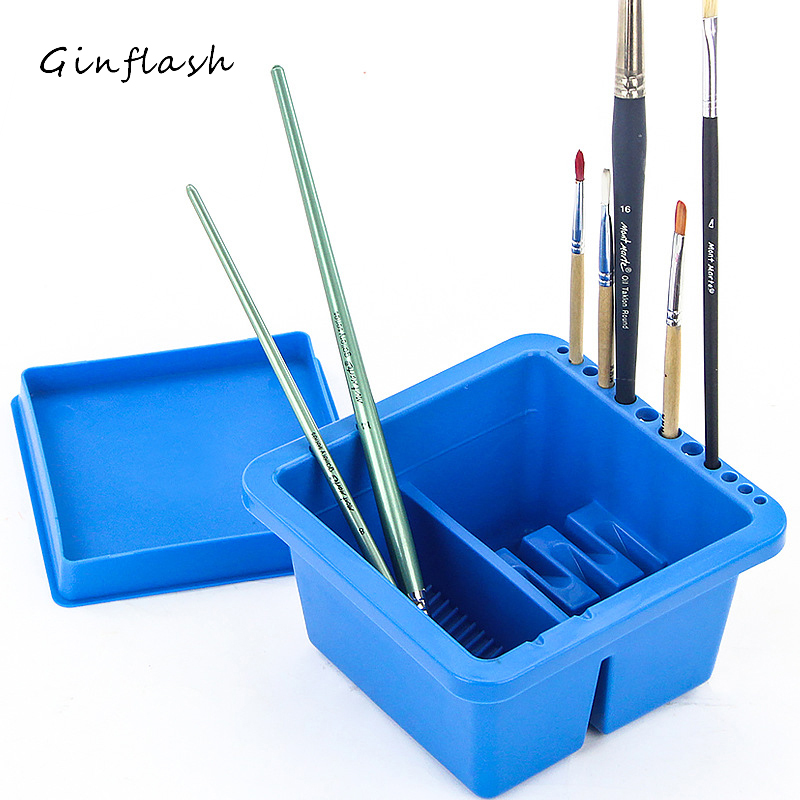 Jimarty Pinsel Waschen Eimer Multifunktions Waschen Stift Barrel Pinsel Washer Künstlerbedarf pinsel waschen werkzeug kunst sets ACT054