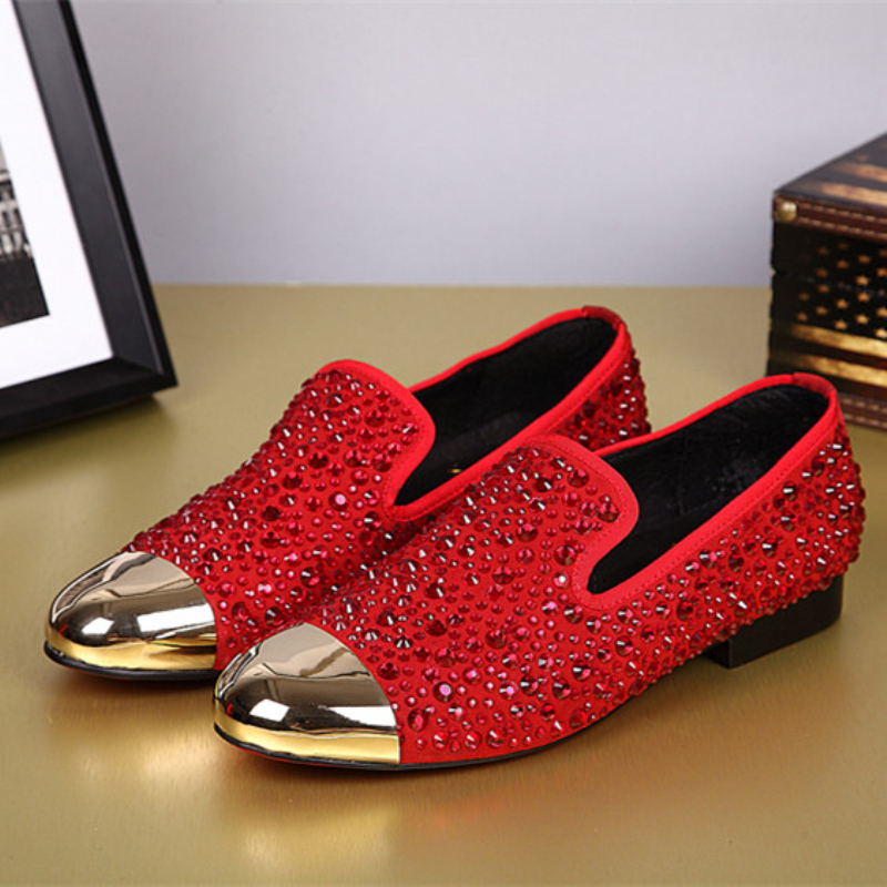 Gold and Red Dress Shoes Men Promotion-Shop for Promotional Gold ...