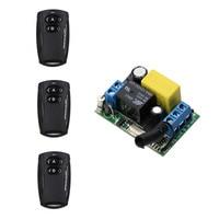Newest AC 220V Wireless Remote Control Switch System Remote Power Switch 1CH 1 CH Wireless Radio