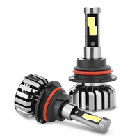 Super Bright Car Headlights N7 9004 1 Set 80W Set 40W Each Bulb CREE Chip LED