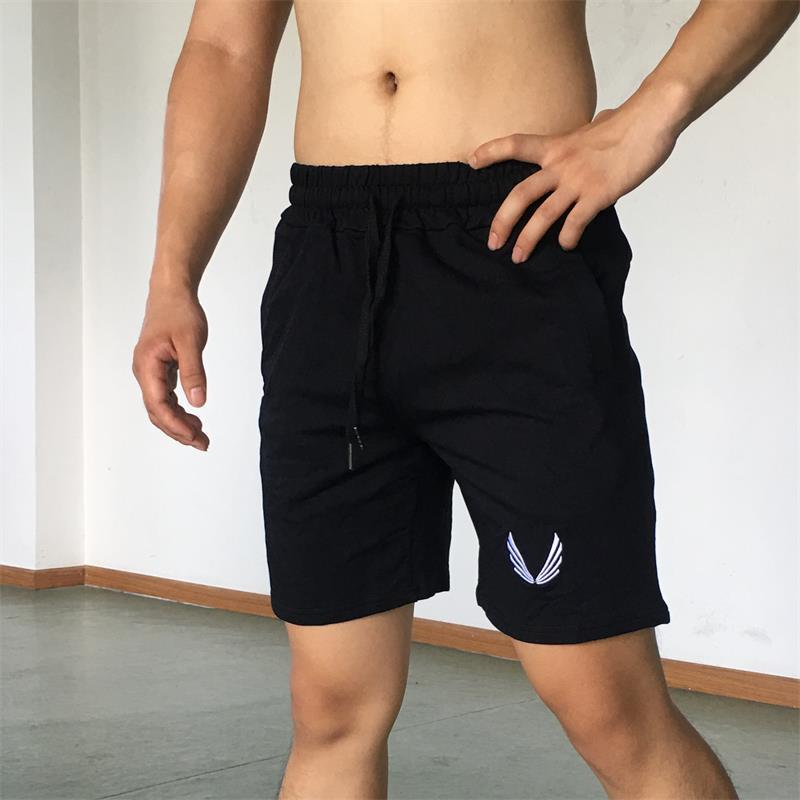 Muscleguys Summer Cotton Shorts Men Fashion Brand gyms shorts Breathable Male Casual Bodybuilding fitness Shorts Plus Size