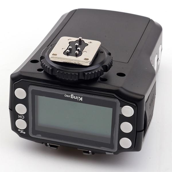 King Pro Wireless E-TTL Flash Trigger  Suit For Canon EOS 700D,100D,1100D, 1000D, 650D, 600D, 550D